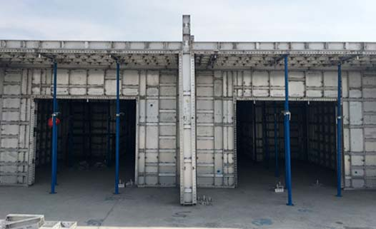Aluminum Panel System-Flat Tie Type - Slab Forms