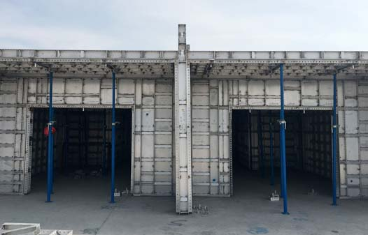 Aluminum Panel System-Flat tie Slab Forms