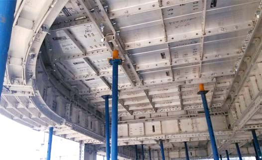 Aluminum Panel System-Tie Rod Type - Slab Forms