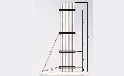 Aluminum column system - Technical Data