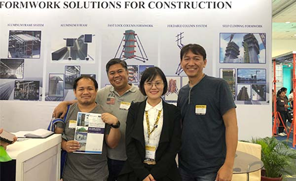 AluliteForms attended PhilConstruct 2018