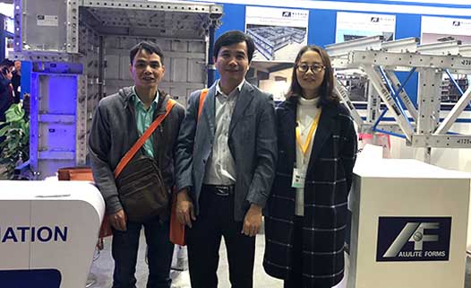 Alulite Forms attended Bauma China 2018