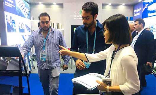 AluliteForms attended 124th Canton Fair
