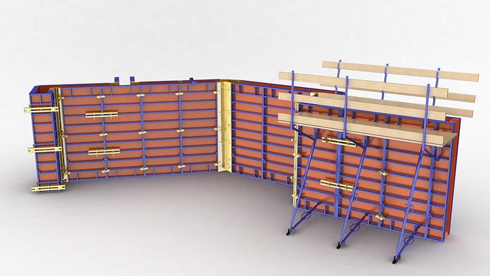 Alulite Wall Panel Formwork System - Aluminum Formwork System
