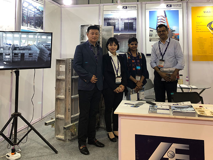 AluliteForms attended concrete show india 2019