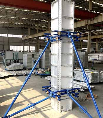 Aluminum Panel Column System