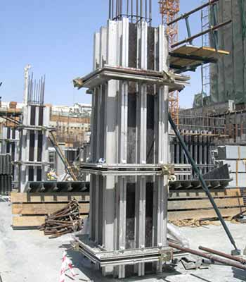 Aluminum Column Form System solution