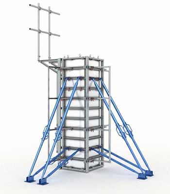 Foldable Column System solution