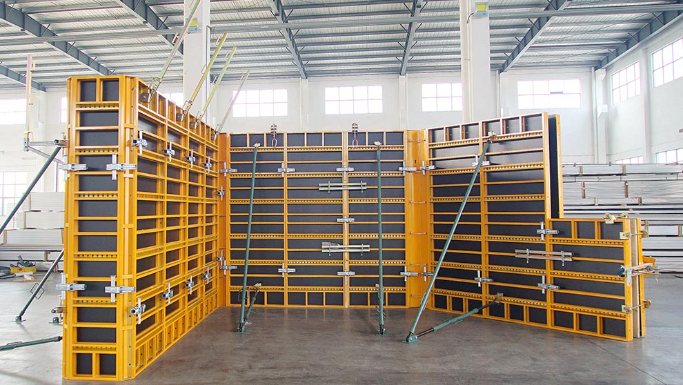 Alulite Wall Panel Formwork System
